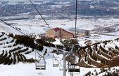 Mountain ski resort Palandoken Turkey — Stock Photo
