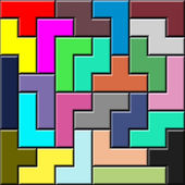 Tetris pattern — Stock Photo