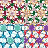Oriental patterns — Stock Vector