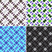 Vector seamless pattern for wrapping paper — Vetorial Stock