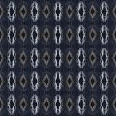 Indian seamless pattern, blue background — Stock Photo