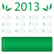 Calendar for 2013 — Stock Vector #12742267