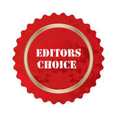 Editors choice special sign — Stock Vector