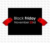 Trendy black friday banner — Stock Vector