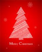 Tarjeta de navidad abstracto moderno, ilustración vectorial eps10 — Vector de stock