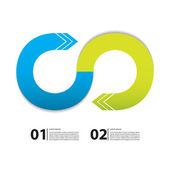 Элегантный бизнес фон с особым дизайном — Cтоковый вектор