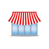 Winkel pictogram met speciale ontwerp — Stockvector
