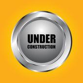 Under construction background vector illustration — Stock Vector