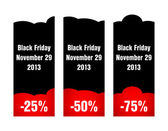 Special black friday price tag — Stockvektor