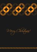 Christmas greeting card, special vector design, eps10 — Stock Vector