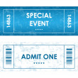 Tickets in different styles — Stock Vector #39927359