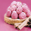 Stock Photo: Raspberry tart