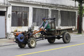 Korean style tractor. — Stock Photo