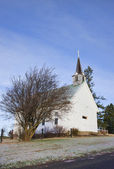 Landsbygdens kyrkan i idaho. — Stockfoto