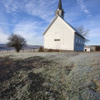 Freeze Church in Idaho. — Foto Stock