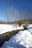 Small stream in Metaline, WA. — Stock Photo