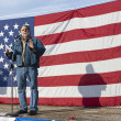 Stock Photo: Vito Barbieri at pro gun rally.