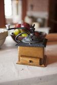 Vintage kaffekvarn. — Stockfoto