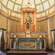 Alter at Cataldo Mission. — Stock Photo