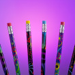 Color pencils fanned out. — Stock Photo #30516911