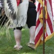Native American ceremony. — Stock Photo
