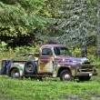 Old vintage truck. — Stock Photo
