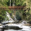 Stock Photo: Bridge over Myrtle Creek.