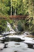 Bridge over Myrtle Creek. — Stock Photo