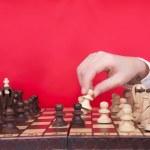 Taking out a pawn. — Foto de Stock