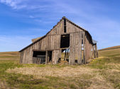 Old barn on the palouse. — Stock Photo