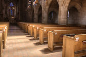 Inside St Johns church. — Stock Photo