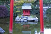 Japanese Gardens in Tacoma. — Stock Photo