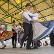 Hungarian Folk Dancing — Stock Photo