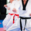 In a gym in martial arts — Stock Photo #5052114