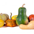 Autumn still-life with pumpkins — Stock Photo #12968500