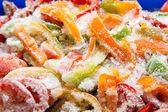 Frozen vegetables closeup — Stock Photo