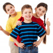Group of happy children — Stock Photo #23824339