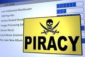 Computer Piracy — Stock Photo