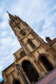 Oviedo Cathedral Weird Angle — Stock Photo