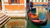 Lonely Gondola — Stock Photo