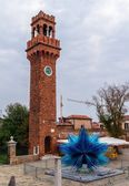 Murano Clock Tower — Stock Photo