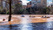 Orange river — Stock fotografie