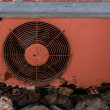Rusty Air Conditioning — Stock Photo