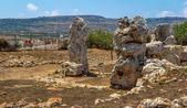 Skorba Temples Stones — Stock Photo