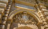 Mdina Carved Shield — Stock Photo