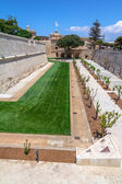 Mdina Garden — Stock Photo