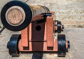 Mdina Cannon — Stockfoto