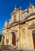 Iglesia de san pablo en rabat — Foto de Stock