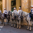 Malta Mounted Police — Stock Photo