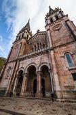 Covadonga Basilica Low Angle — Stock Photo